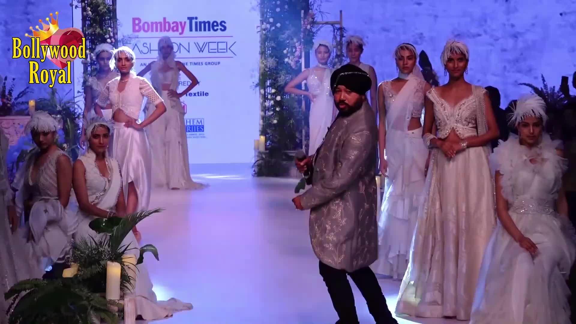 Tara Sutaria Walks For Sulakshana Monga At Bombay Times Fashion Week 2020