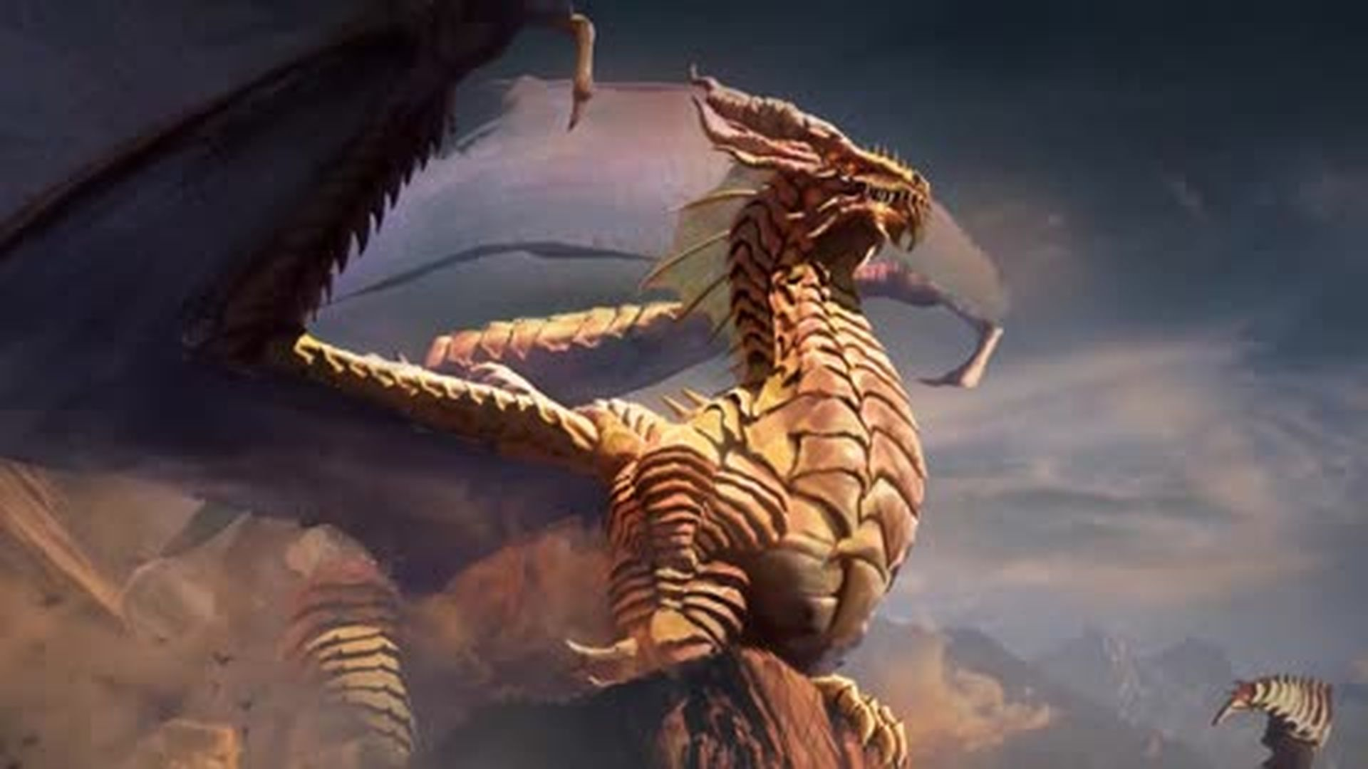 Dungeons and Dragons Lore: Gold Dragon