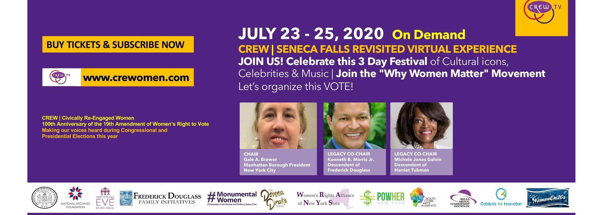 Seneca Falls Revisited Conference Banner