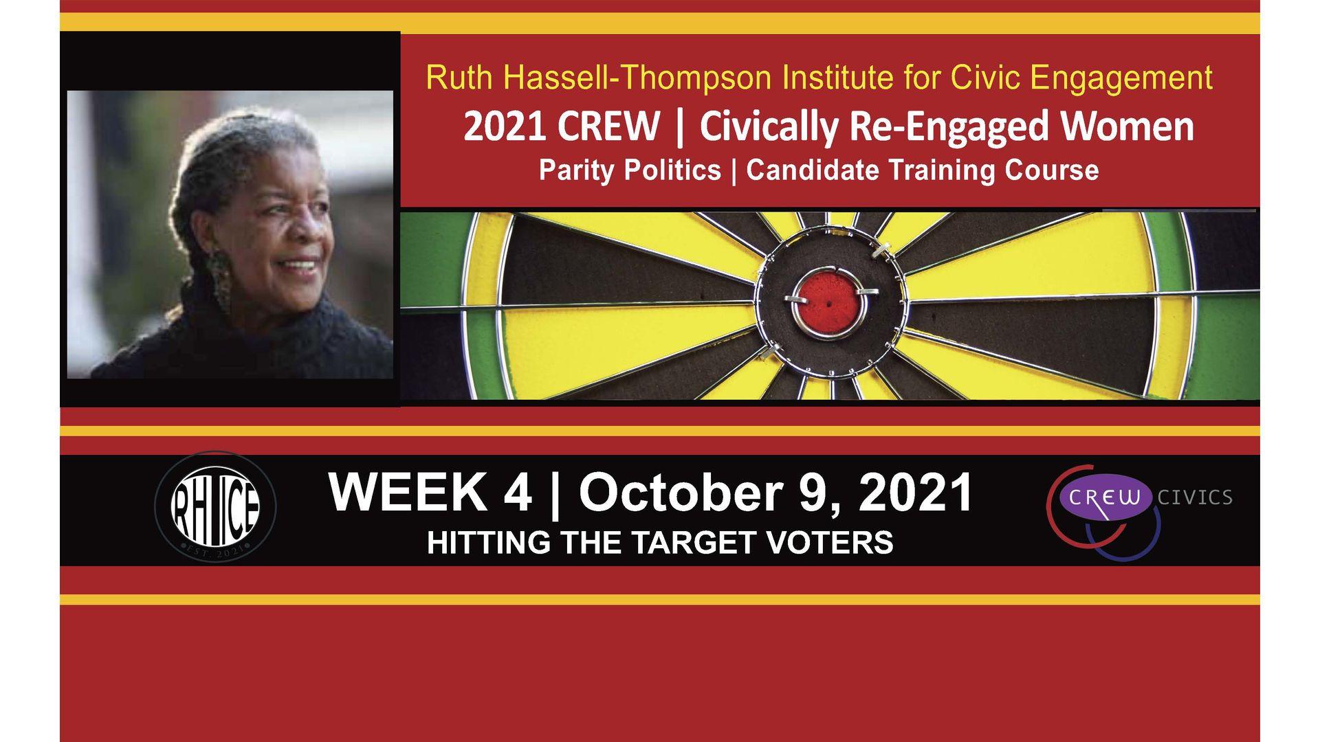 Week 4 | Hitting The Target