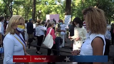 Interview with Congresswoman Carolyn Maloney in Central Park, NY
