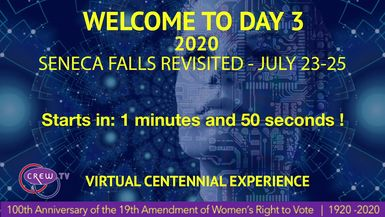 Day 3 - The 2020 Seneca Falls Revisited Virtual Festival Experience