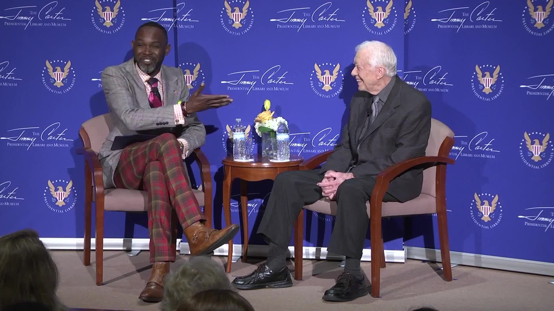 A Conversation with President Jimmy Carter