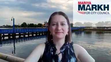 Mariya Markh | Democratic Candidate for New York City Council District 48